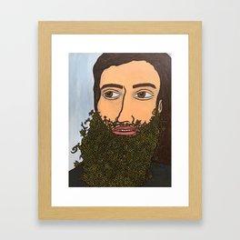 Full Cone Framed Art Print
