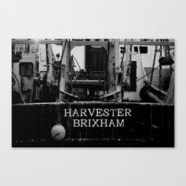 Harvester Brixham Fishing Boat Canvas Print