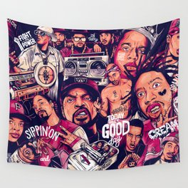 OLD SCHOOL Wall Tapestry