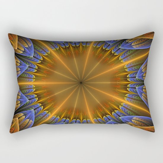 Autumn star Rectangular Pillow