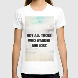 Travel quote awesome T-shirt