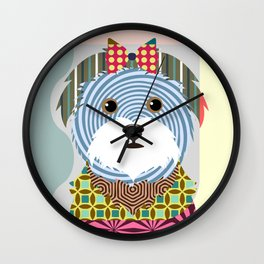 Maltese Wall Clock