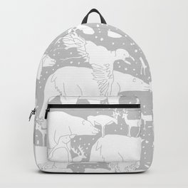 Polar gathering (latte) Backpack
