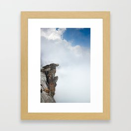 Glacier Point, Yosemite National Park, 7,000ft Above Yosemite Valley, Yosemite Photography Framed Art Print