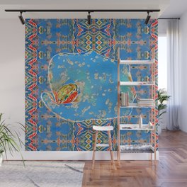 Portrait of a Mediterranean Frog Prince Wall Mural