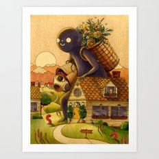Heading Home Art Print