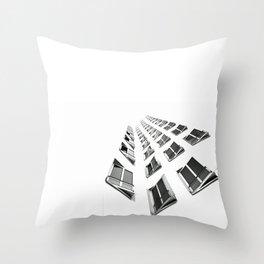 Magic window Throw Pillow