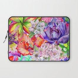 Queen of flowers Laptop Sleeve