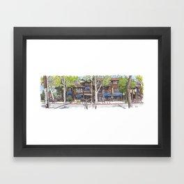 3rd and A, Davis Framed Art Print