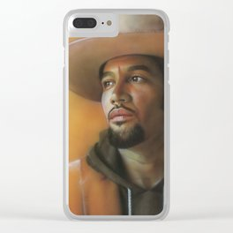 'Crazy Amazing' Clear iPhone Case