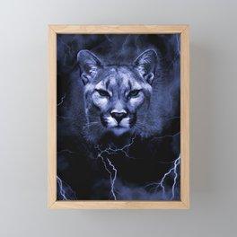 COUGAR Framed Mini Art Print