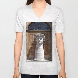 Stare, Vatican City Unisex V-Neck
