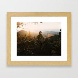 Killington Peak Framed Art Print