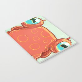 Goldie the Octopus Notebook