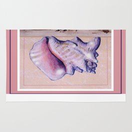 Conch Shell  Rug