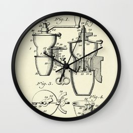 Coffee Mill-1905 Wall Clock