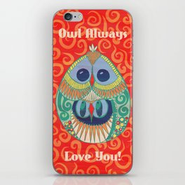 Owl Be There For You iPhone Skin