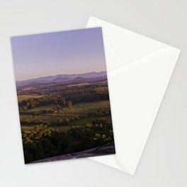 Sunrise Glassy Mountain, South Carolina Stationery Cards