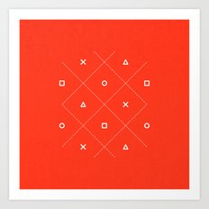 Geometry is Fun Art Print