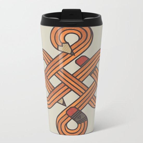 Endless Creativity Metal Travel Mug