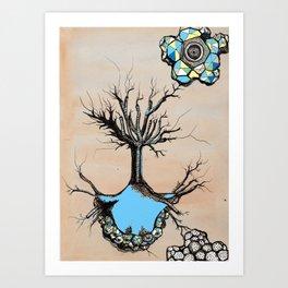 Contact Art Print