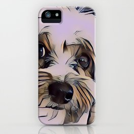 Copper Eyes Wide Open iPhone Case