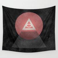 illuminati Wall Tapestries featuring Illuminati by Ed Burczyk