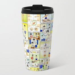 1959 Taiwan Public Health Poster Travel Mug