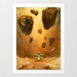 Earthbender Art Print