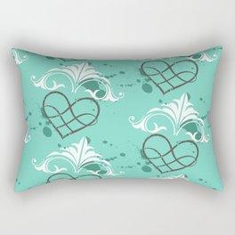 Fresh heart Rectangular Pillow