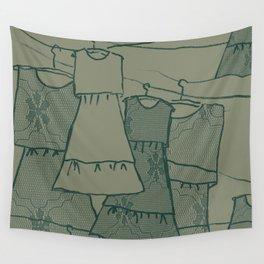 Frida's Dresses Wall Tapestry