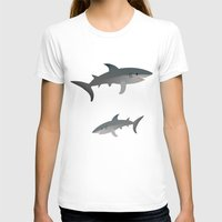 sharks T-shirts featuring Sharks by Bwiselizzy