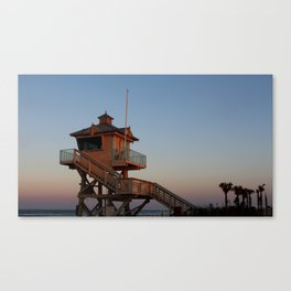 Guard Tower At Dusk Canvas Print