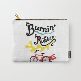 Burning Rubber bike Carry-All Pouch