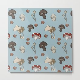 Mushrooms No. 2 Metal Print