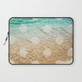 Virgin Islands / Polka Dots Laptop Sleeve