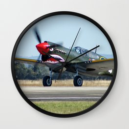 VH-ZOC Curtiss P-40N Warhawk Wall Clock