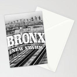 Bronx New York 'New Yawhk' Est. 1788 Stationery Cards