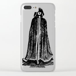 Gothic Echo Clear iPhone Case