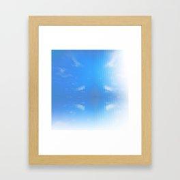 Send Me Sky High Framed Art Print