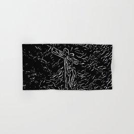 The God ( Modern Religious Art ) Hand & Bath Towel