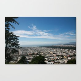 SAN FRANCISCO x CALIFORNIA Canvas Print