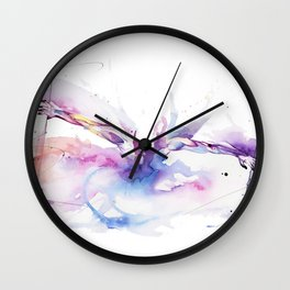 Outside The Picture Wall Clock
