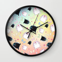 Mokona's Pattern Wall Clock