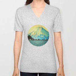 Waddling through Kennijo Lake Unisex V-Neck