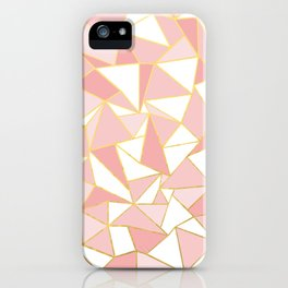Ab Out Blush Gold 2 iPhone Case