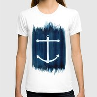 anchor T-shirts featuring Anchor by Bridget Davidson