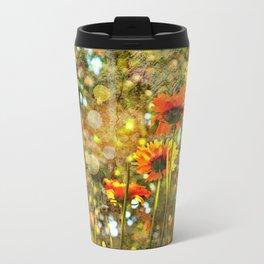 Coreopsis Sunburst Travel Mug