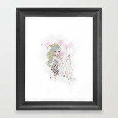 Flota Framed Art Print