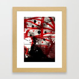 Three Months of Stress and Fear at Home in Los Angeles in 2014 Framed Art Print